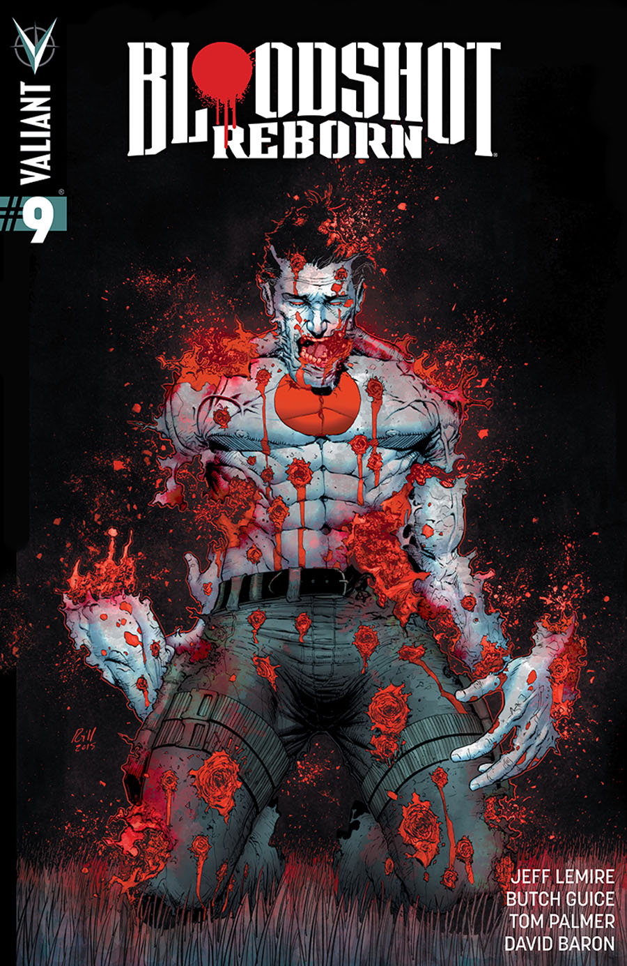 Bloodshot Reborn #9 Cover D Incentive Robert Gill Variant Cover