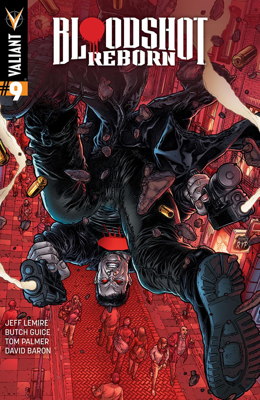 Bloodshot Reborn #9 Cover E Incentive Juan Jose Ryp Variant Cover