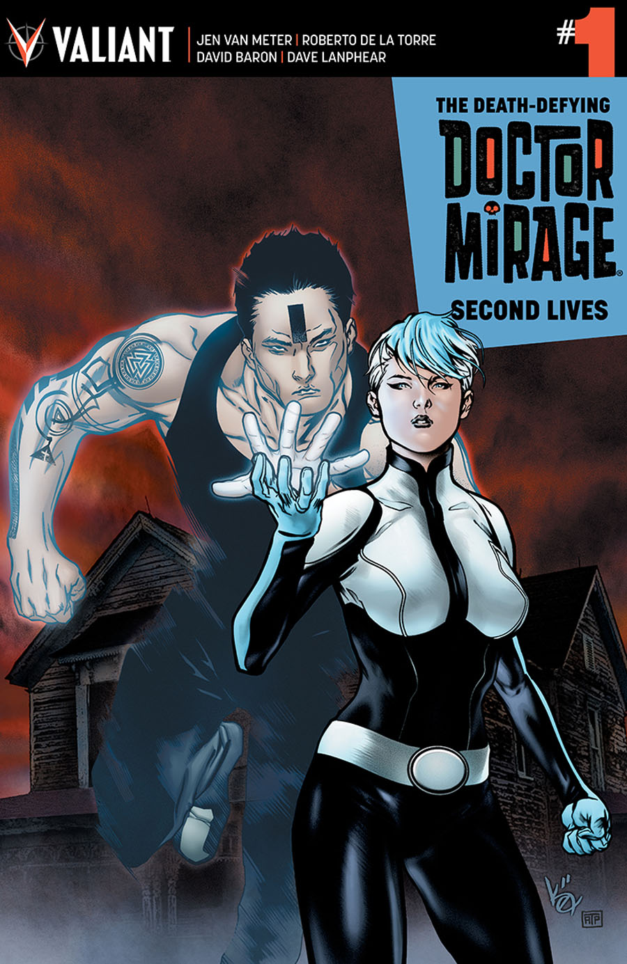 Death-Defying Doctor Mirage Second Lives #1 Cover D Incentive Khari Evans Variant Cover