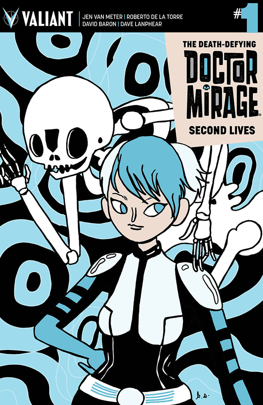Death-Defying Doctor Mirage Second Lives #1 Cover E Incentive Katie Skelly Variant Cover