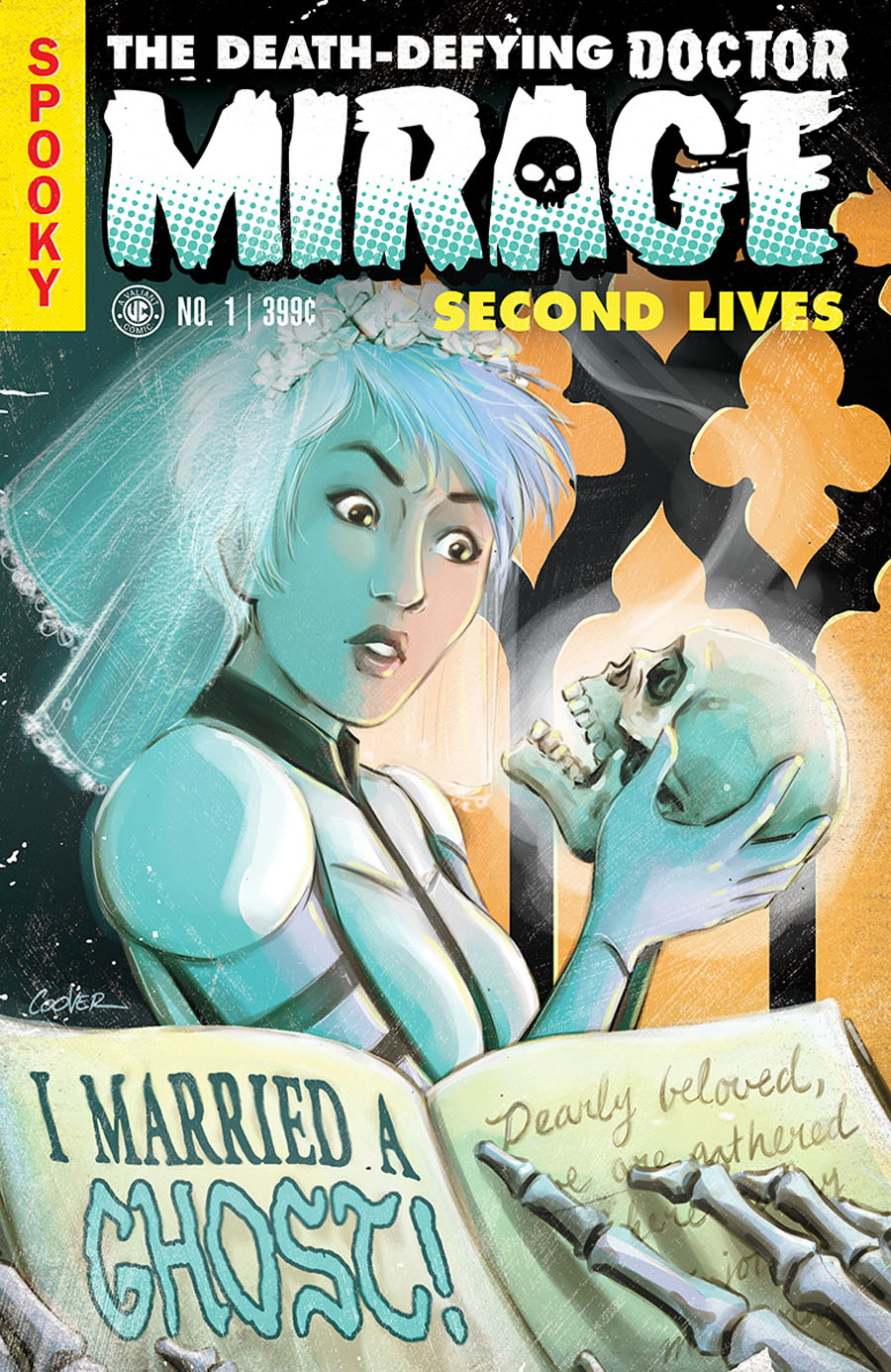 Death-Defying Doctor Mirage Second Lives #1 Cover F Incentive Colleen Coover Valiant Linewide Variant Cover