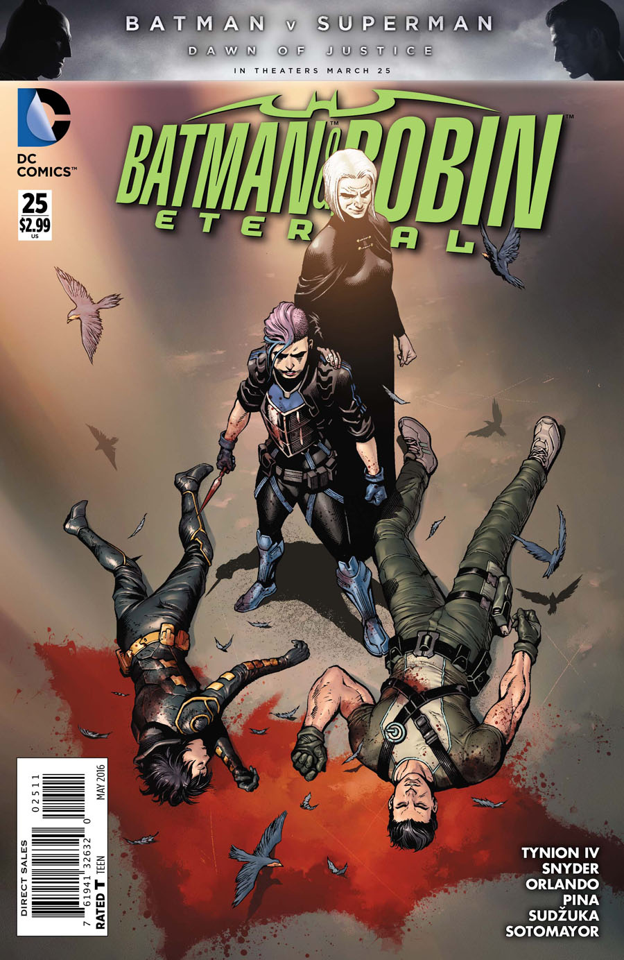 Batman And Robin Eternal #25