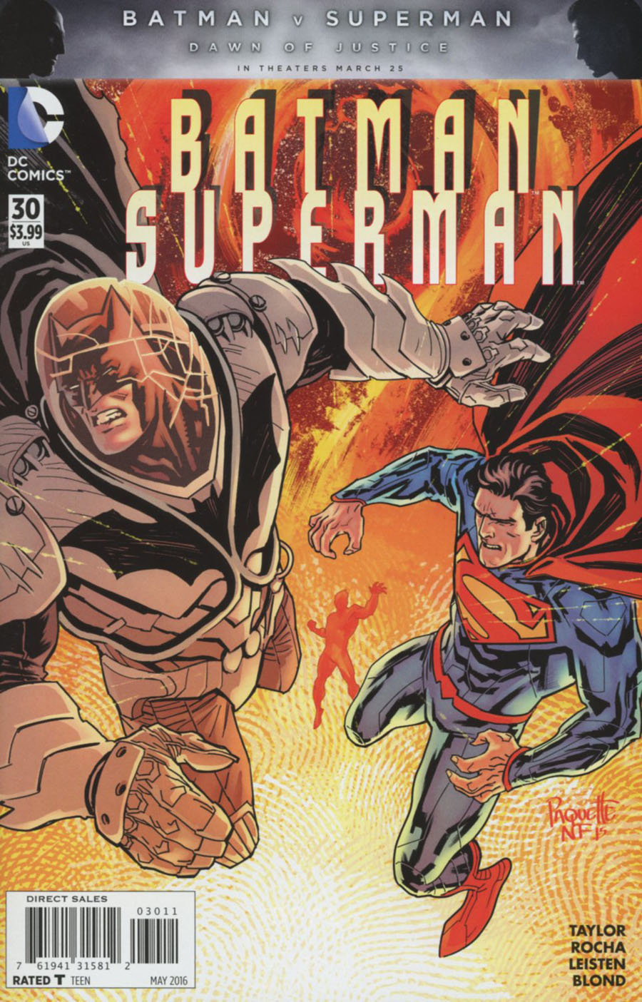 Batman Superman #30 Cover A Regular Yanick Paquette Cover
