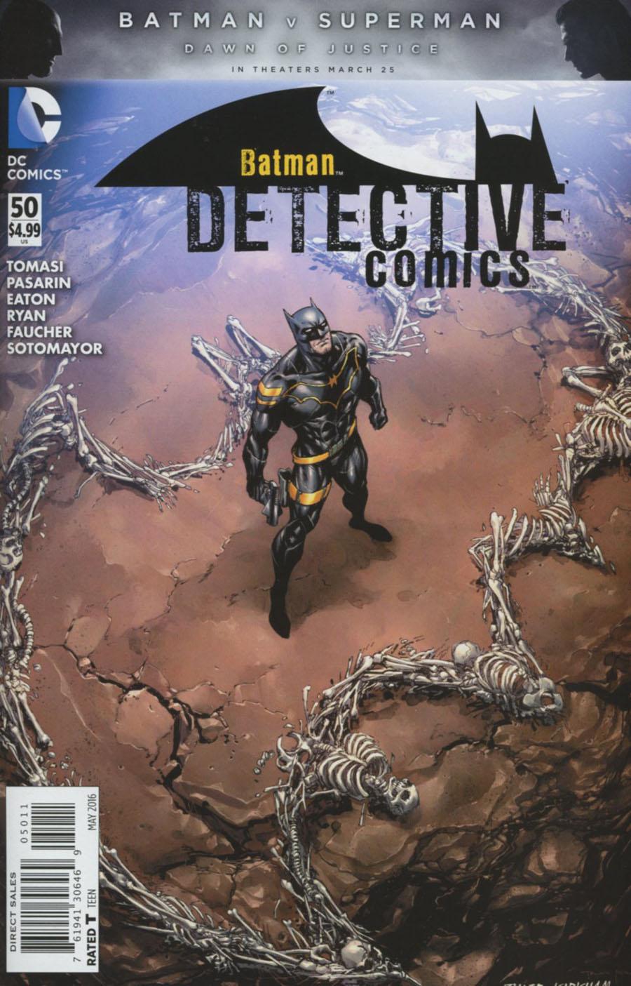 Detective Comics Vol 2 #50 Cover A Regular Tyler Kirkham Cover
