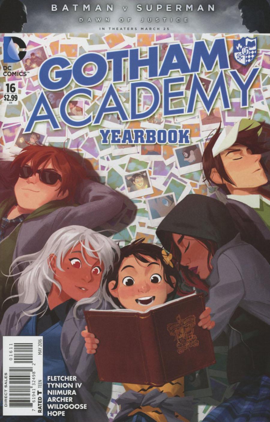 Gotham Academy #16