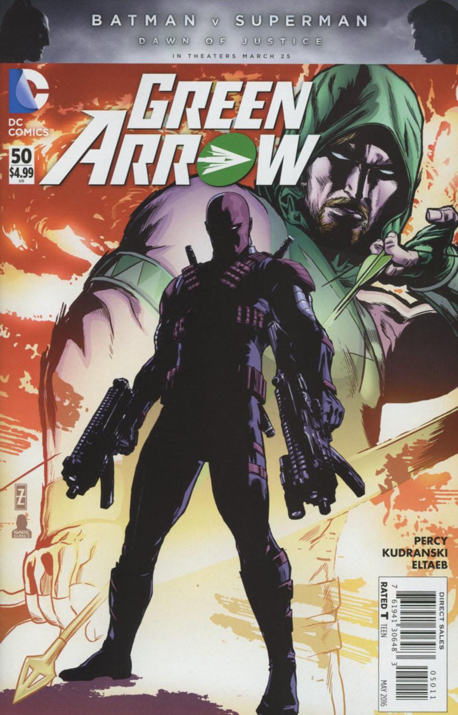Green Arrow Vol 6 #50 Cover A Regular Shane Davis Cover