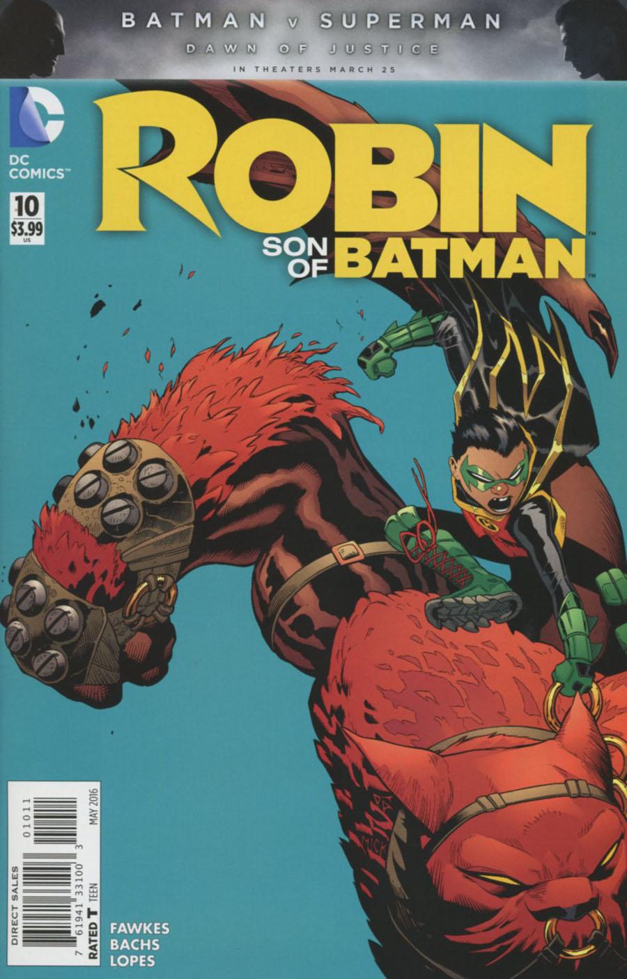Robin Son Of Batman #10 Cover A Regular Patrick Gleason Cover