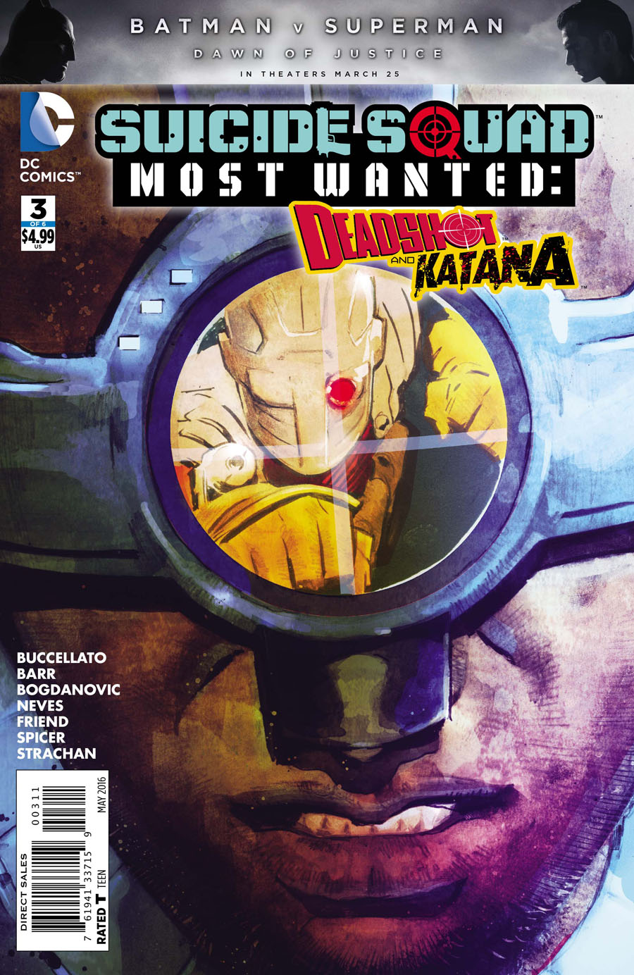 Suicide Squad Most Wanted Deadshot Katana #3