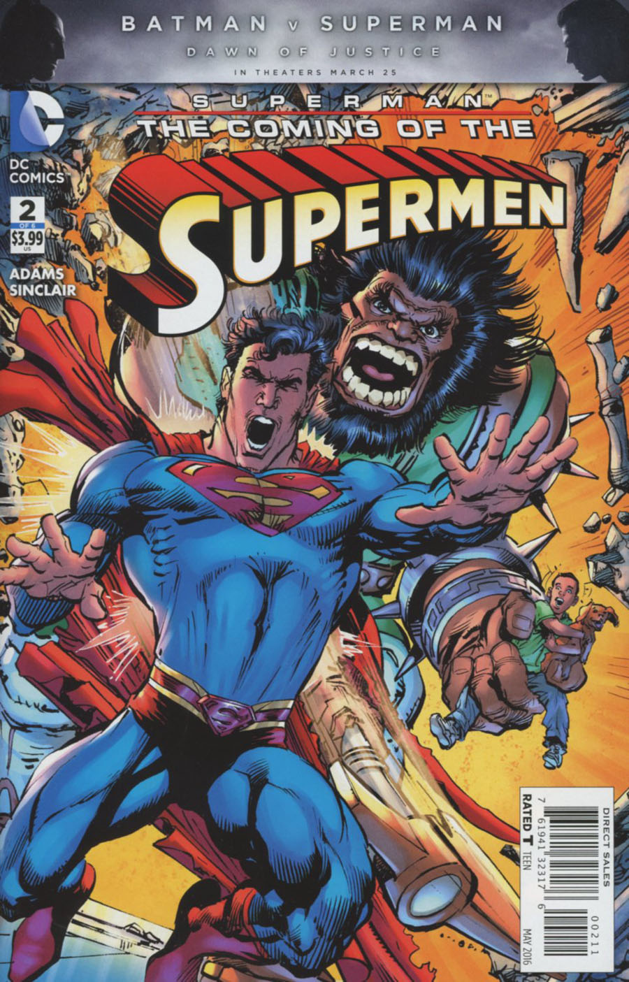 Superman The Coming Of The Supermen #2