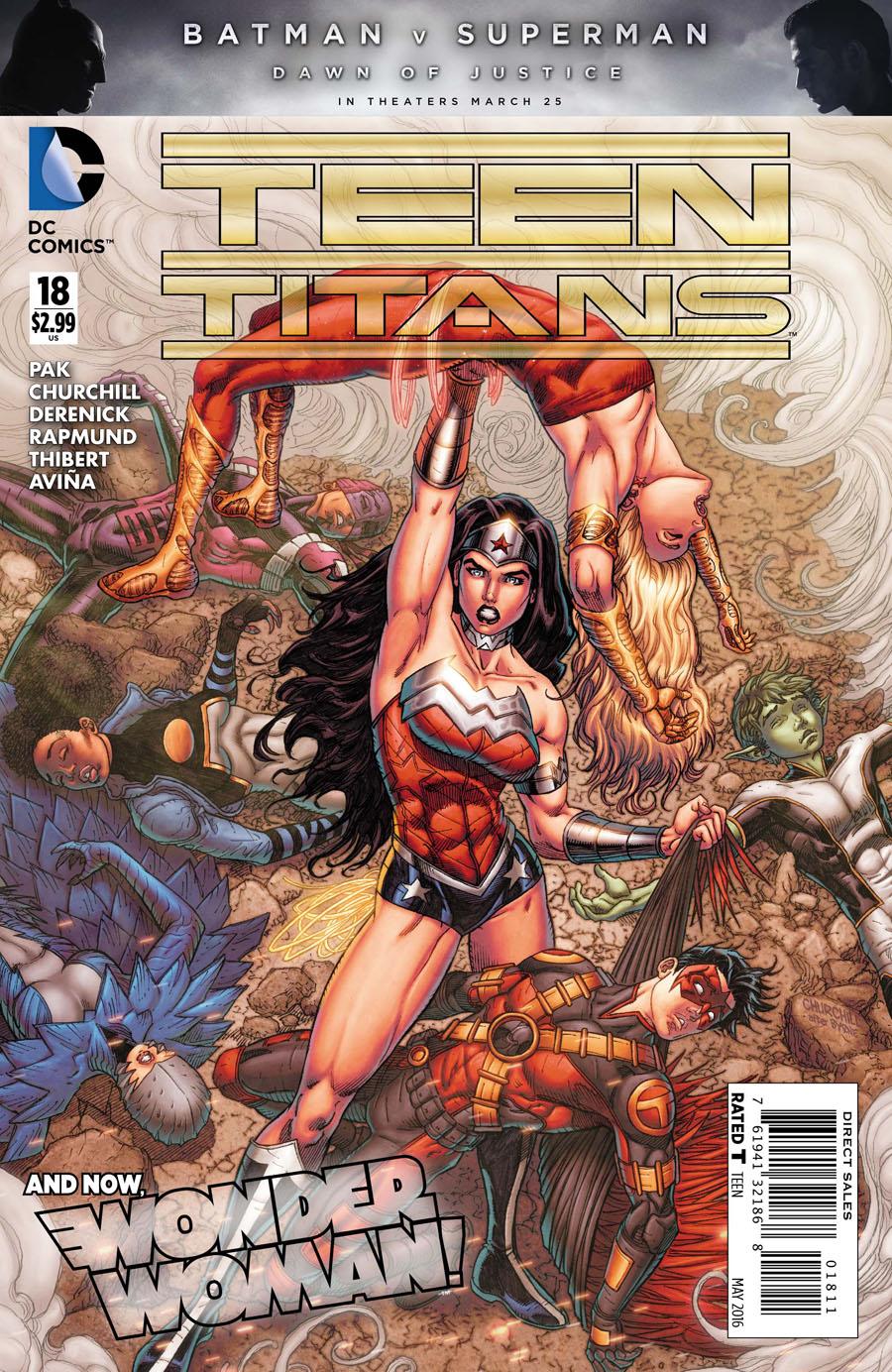 Teen Titans Vol 5 #18 Cover A Regular Ian Churchill Cover