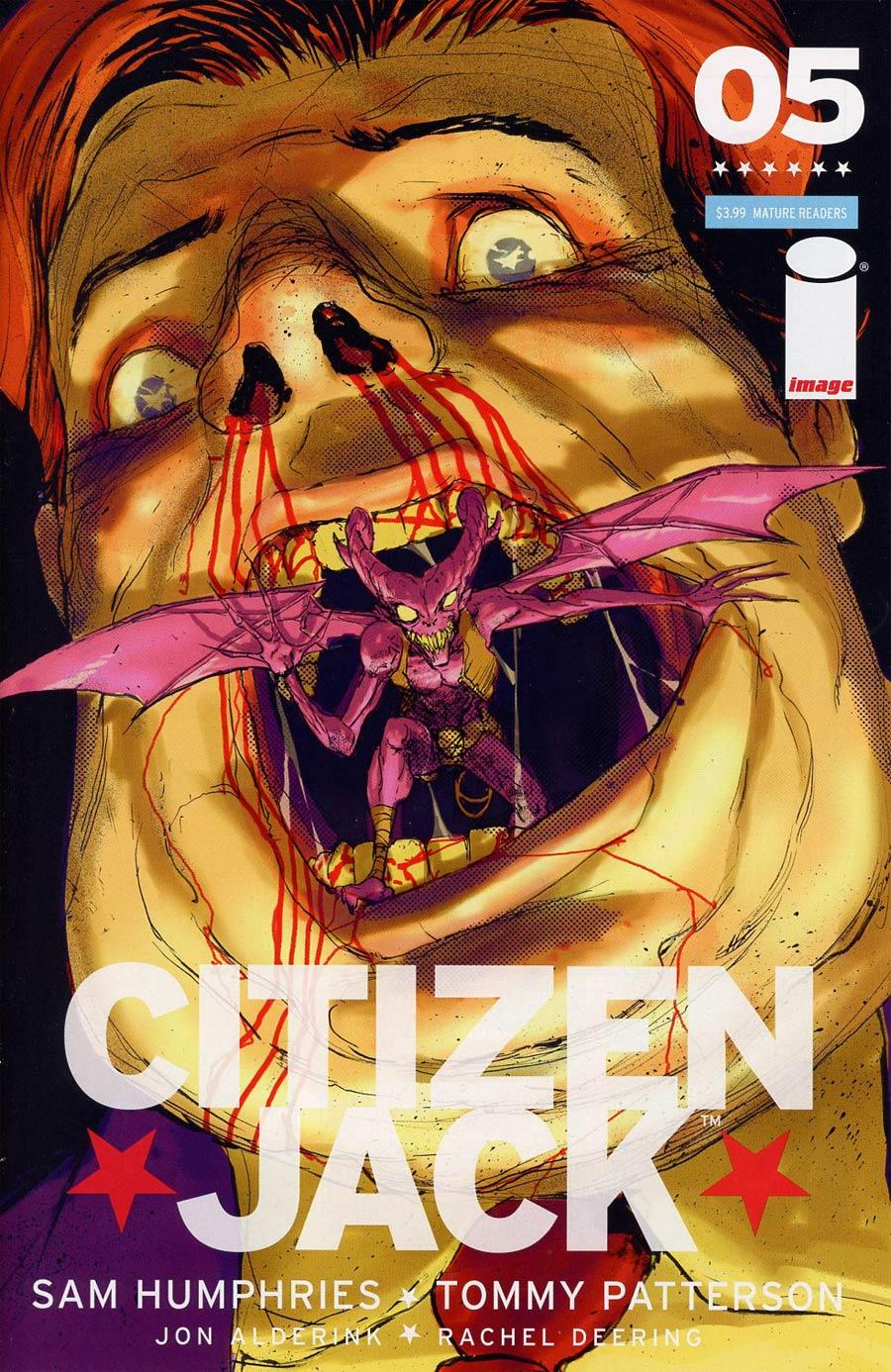 Citizen Jack #5 Cover B Riley Rossmo