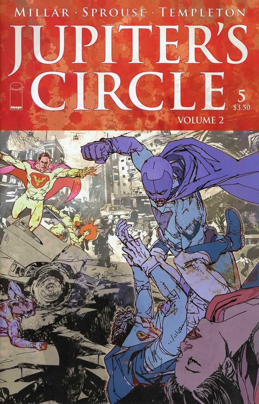 Jupiters Circle Vol 2 #5 Cover A Bill Sienkiewicz
