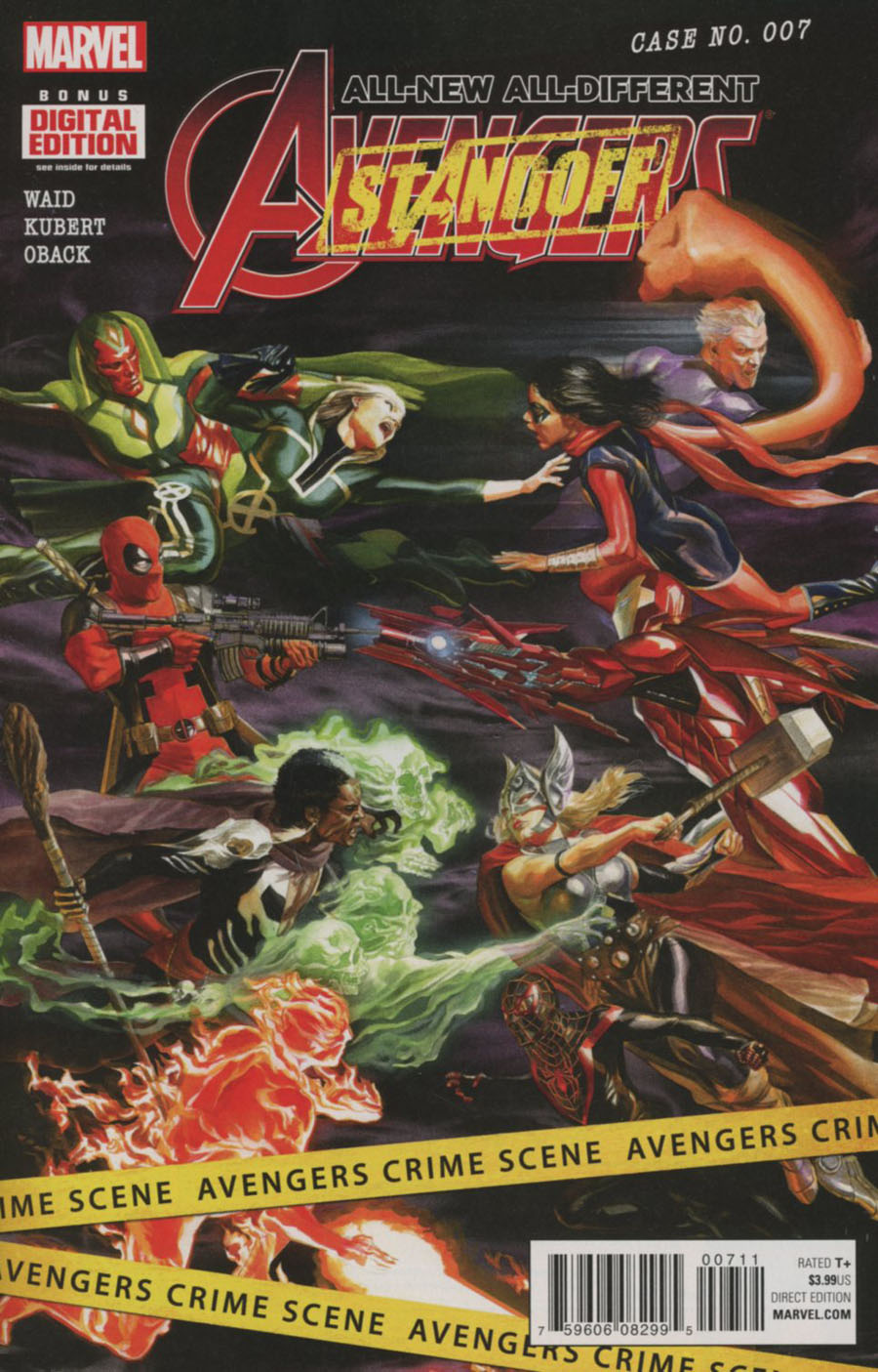 All-New All-Different Avengers #7 Cover A Regular Alex Ross Cover (Standoff Tie-In)