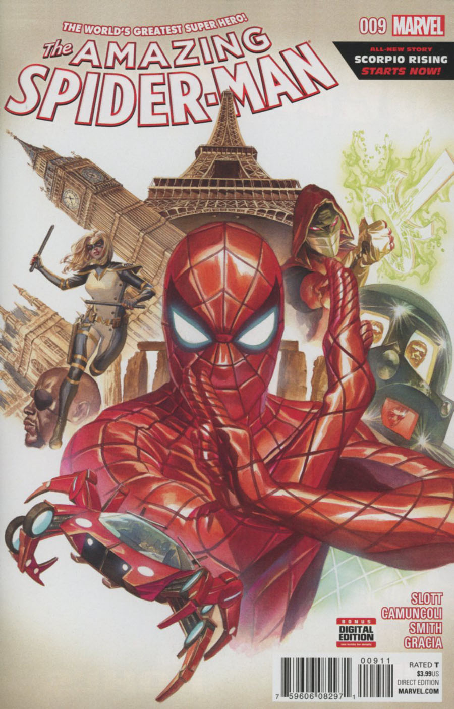 Amazing Spider-Man Vol 4 #9 Cover A Regular Alex Ross Cover