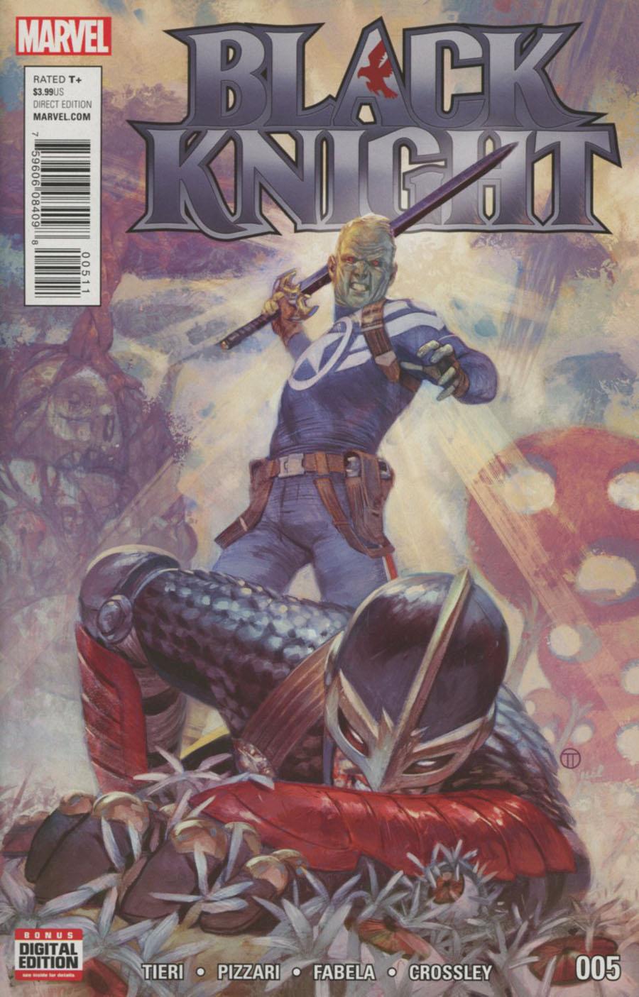 Black Knight Vol 4 #5 Cover A Regular Julian Totino Tedesco Cover