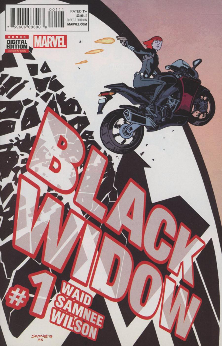 Black Widow Vol 6 #1 Cover A 1st Ptg Regular Chris Samnee Cover