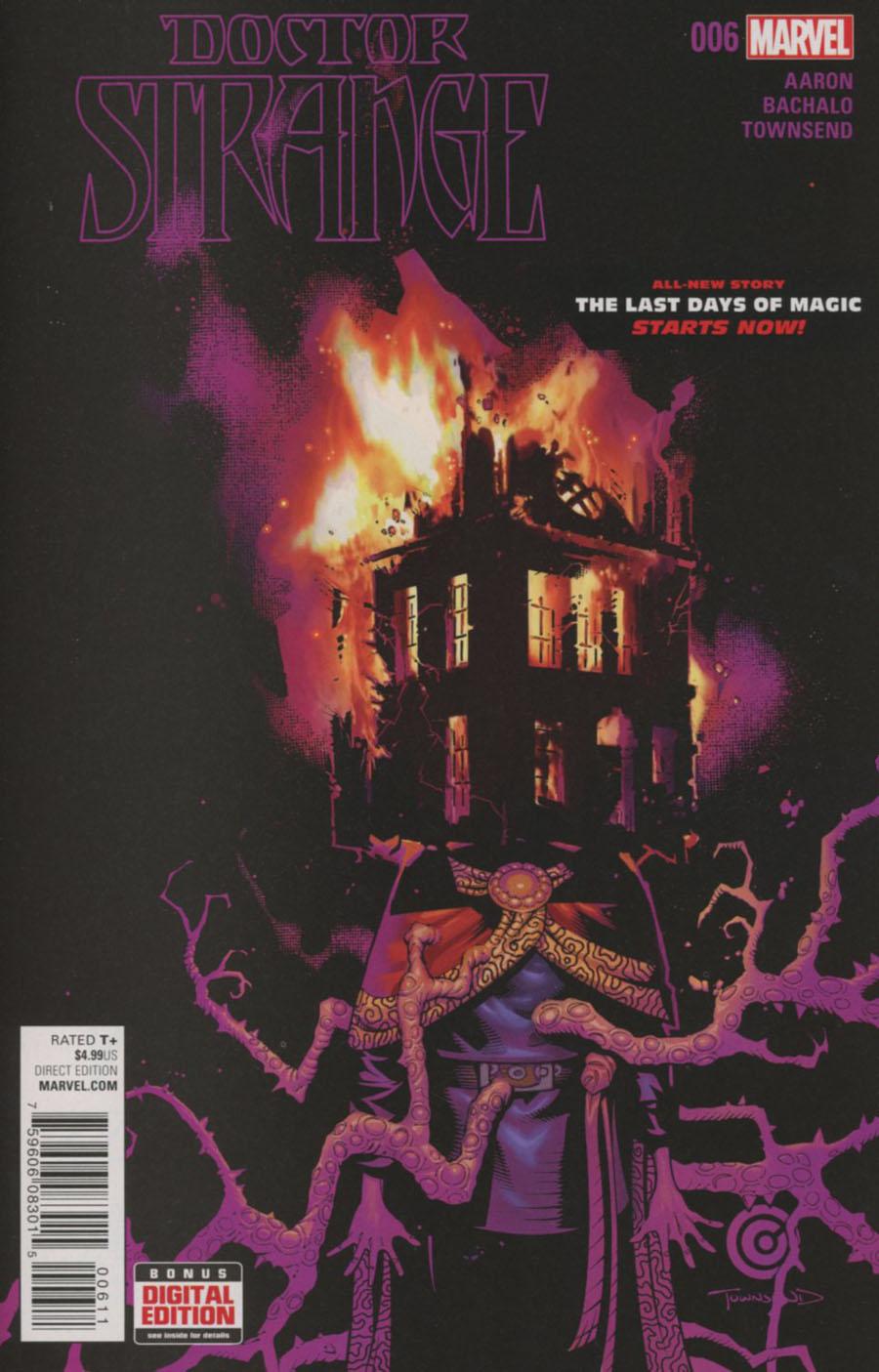 Doctor Strange Vol 4 #6 Cover A 1st Ptg Regular Chris Bachalo Cover
