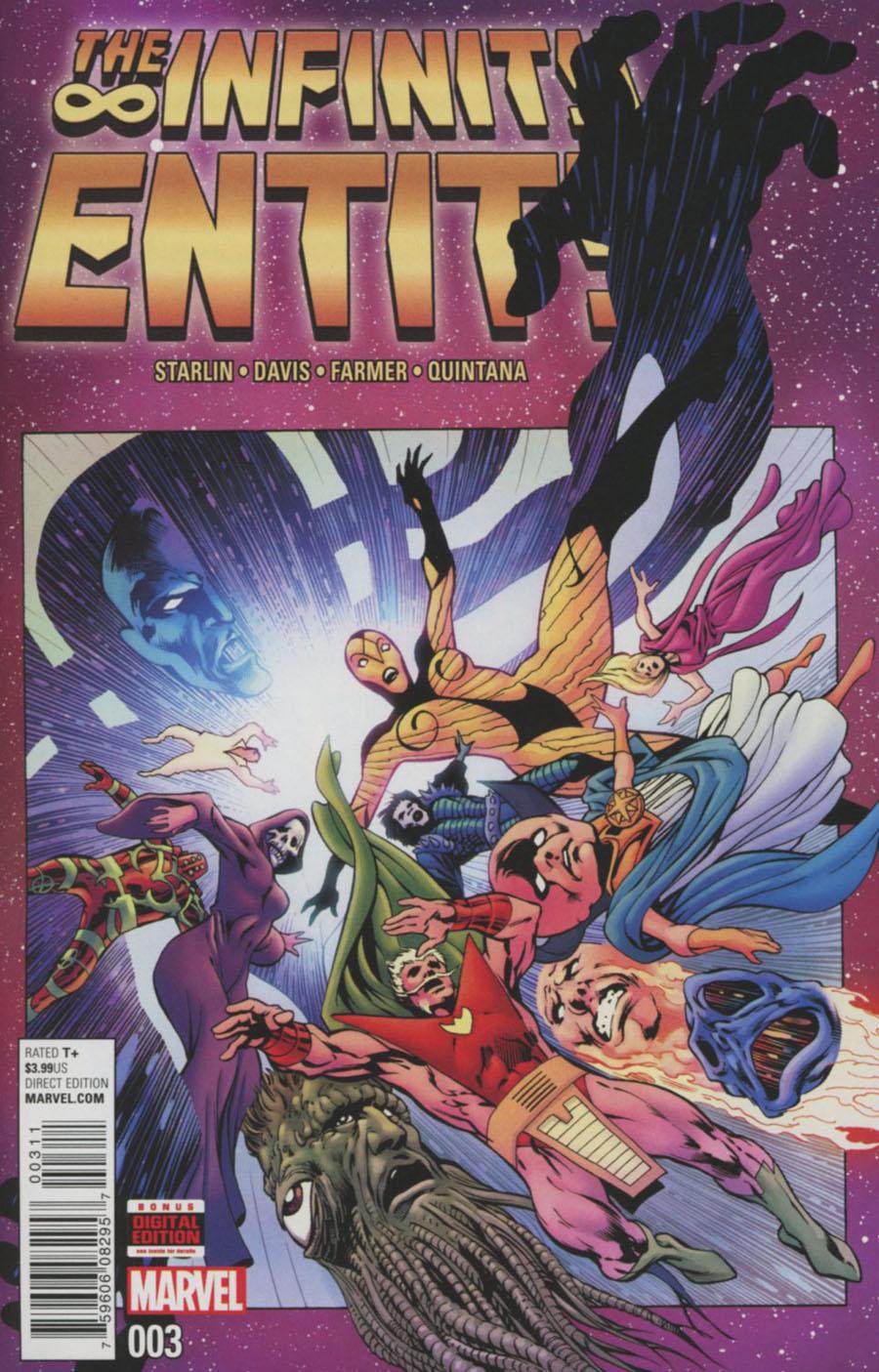 Infinity Entity #3 Cover A Regular Alan Davis Cover