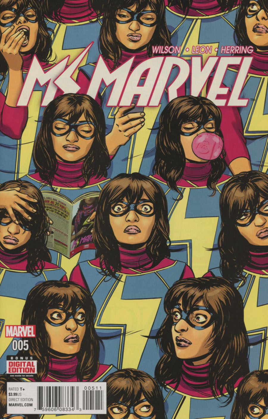 Ms Marvel Vol 4 #5 Cover A Regular David Lopez Cover
