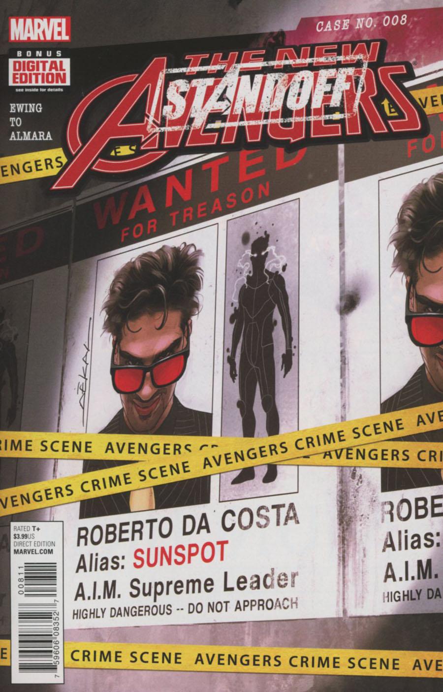 New Avengers Vol 4 #8 (Standoff Tie-In)