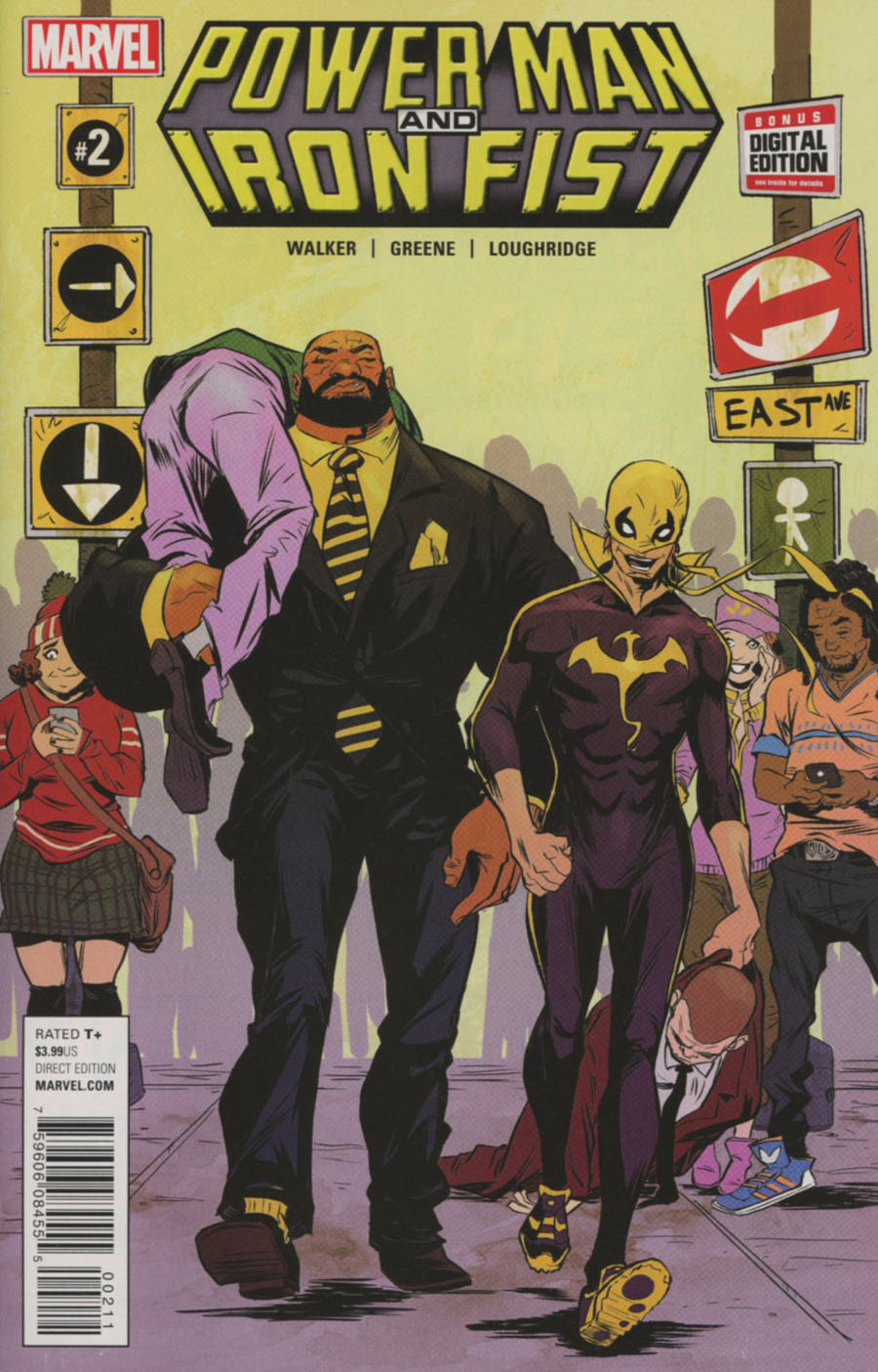 Power Man And Iron Fist Vol 3 #2 Cover A Regular Sanford Greene Cover