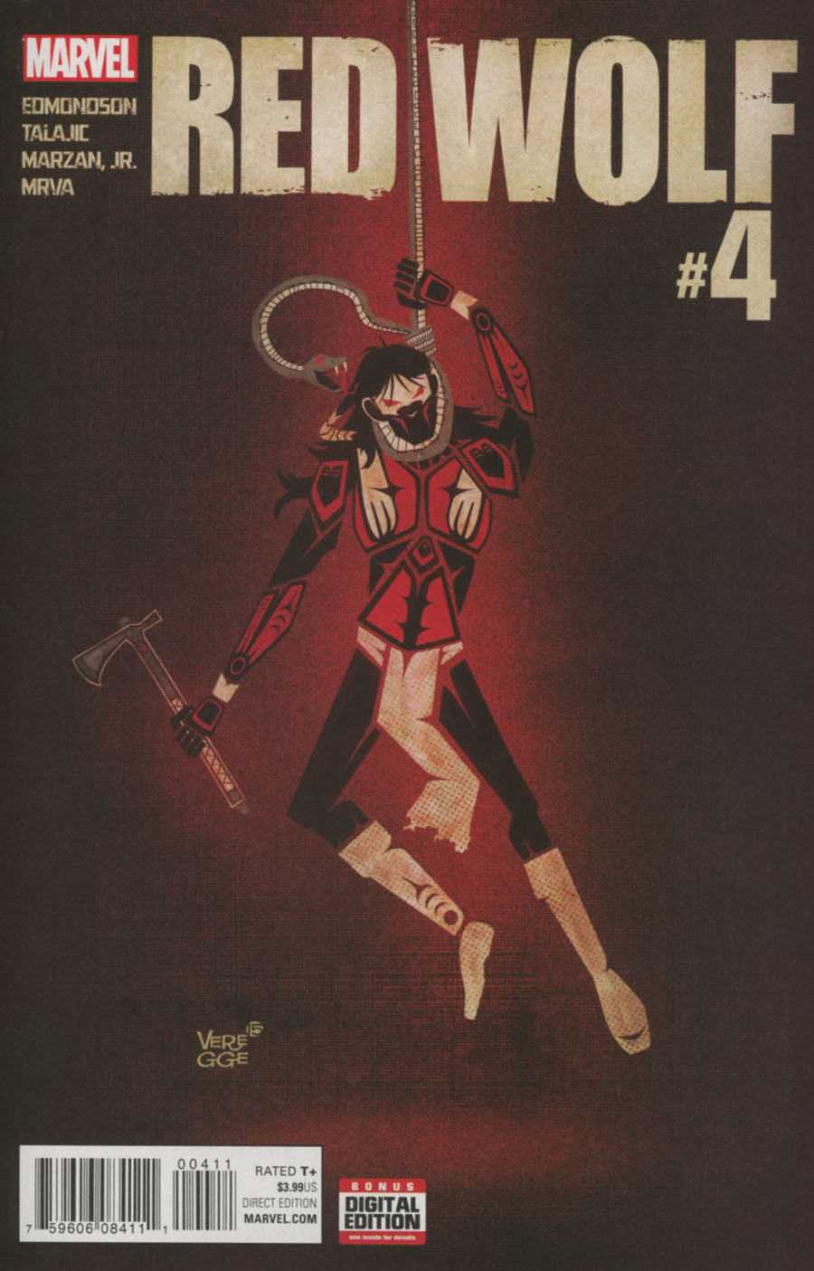 Red Wolf Vol 2 #4