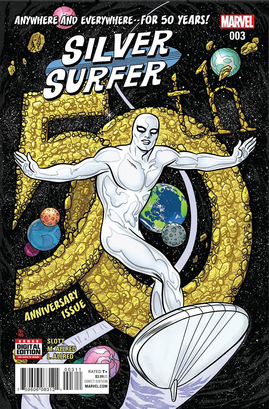 Silver Surfer Vol 7 #3 Cover A Regular Michael Allred Cover