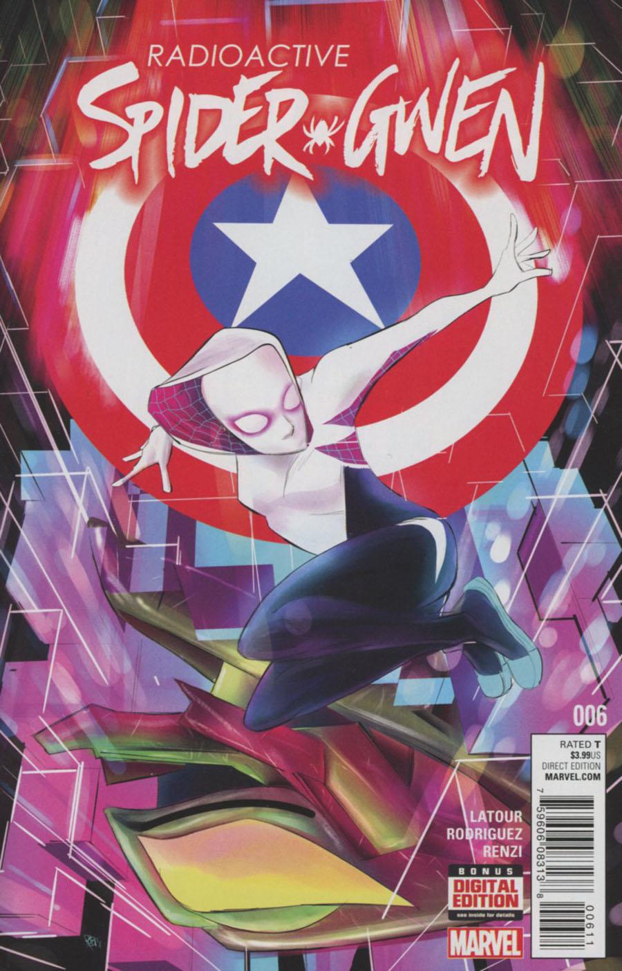 Spider-Gwen Vol 2 #6 Cover A Regular Robbi Rodriguez Cover