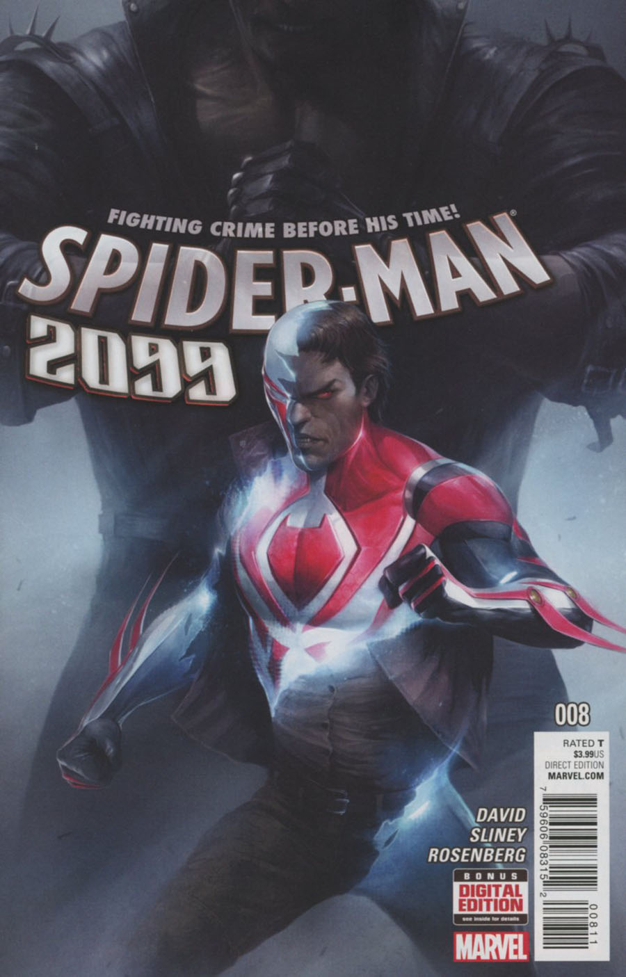 Spider-Man 2099 Vol 3 #8 Cover A Regular Francesco Mattina Cover