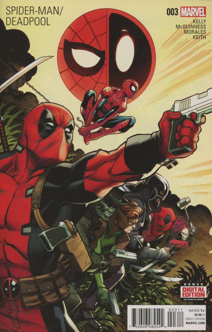 Spider-Man Deadpool #3 Cover A 1st Ptg Regular Ed McGuinness Cover