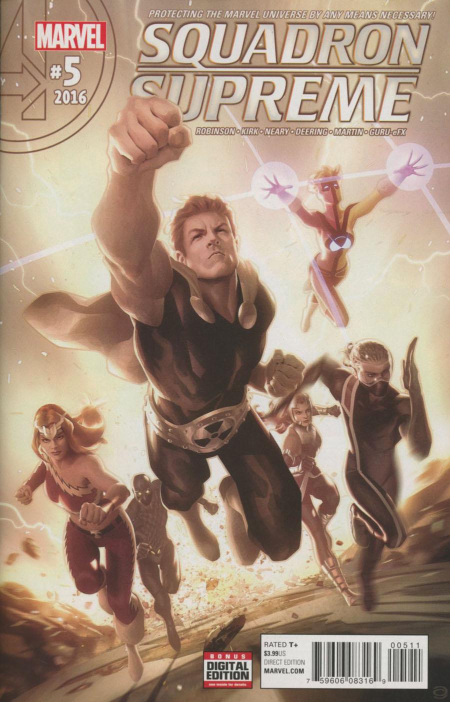 Squadron Supreme Vol 4 #5 Cover A Regular Alex Garner Cover