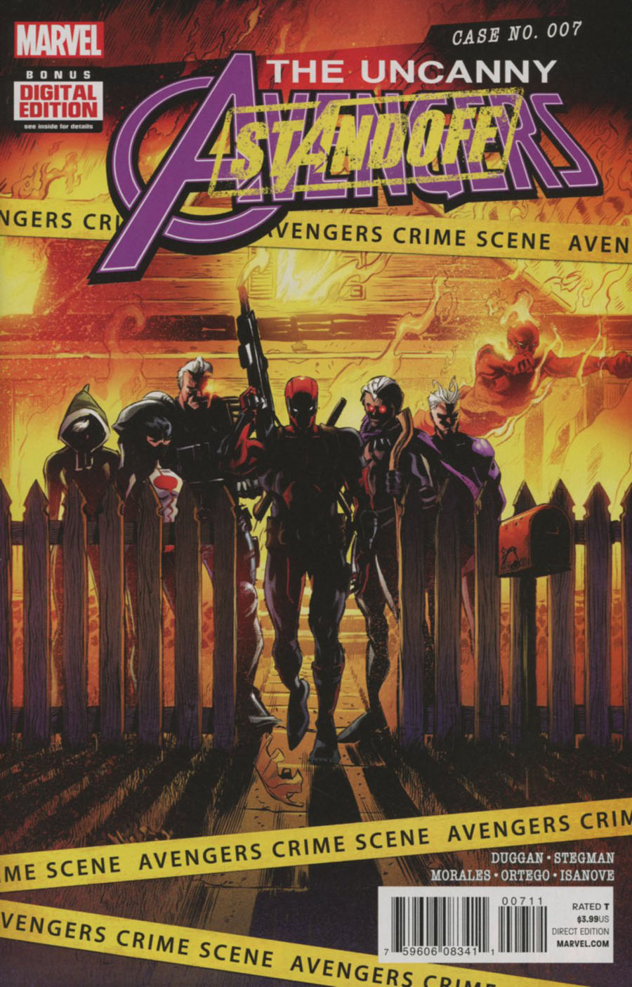 Uncanny Avengers Vol 3 #7 Cover A Regular Ryan Stegman Cover (Standoff Tie-In)