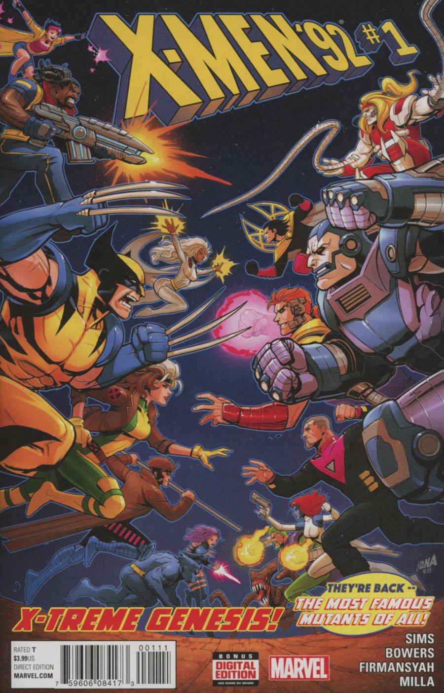 X-Men 92 Vol 2 #1 Cover A Regular David Nakayama Cover