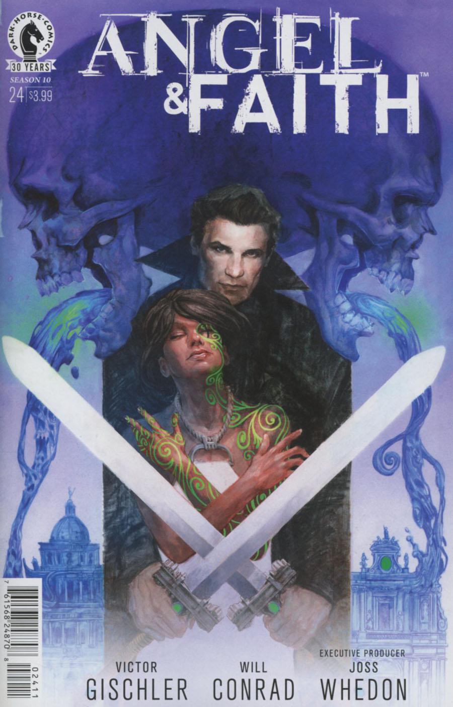 Angel And Faith Season 10 #24 Cover A Regular Scott Fischer Cover