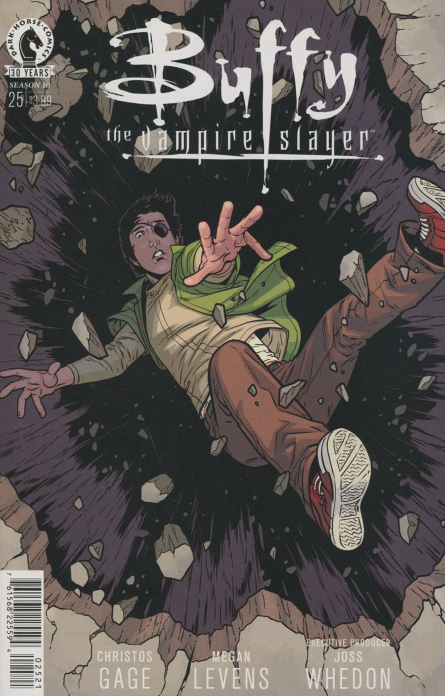 Buffy The Vampire Slayer Season 10 #25 Cover B Variant Rebekah Isaacs Cover