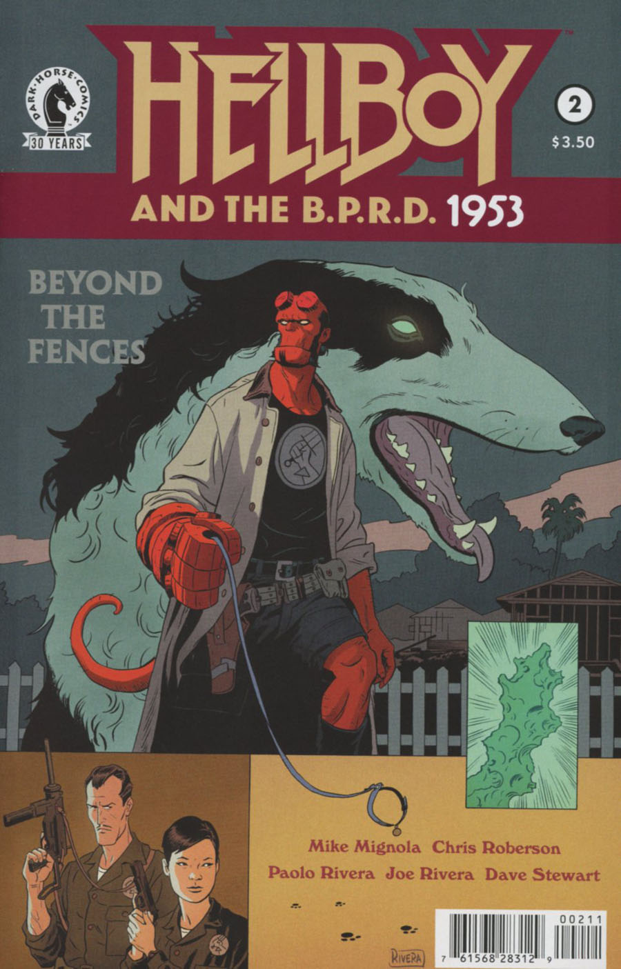 Hellboy And The BPRD 1953 Beyond The Fences #2