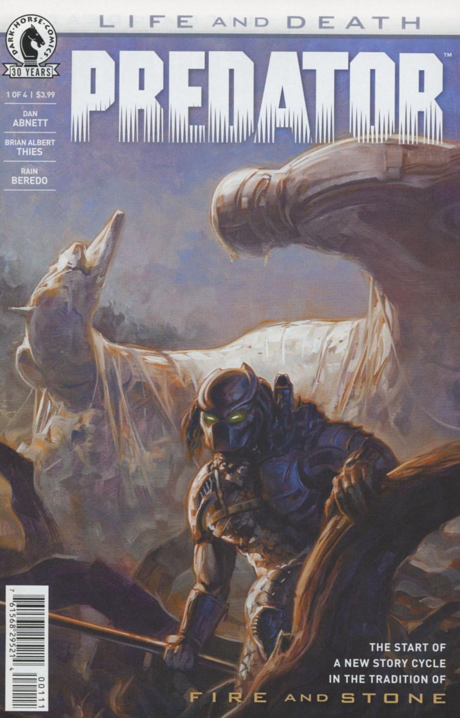 Predator Life And Death #1 Cover A Regular David Palumbo Cover