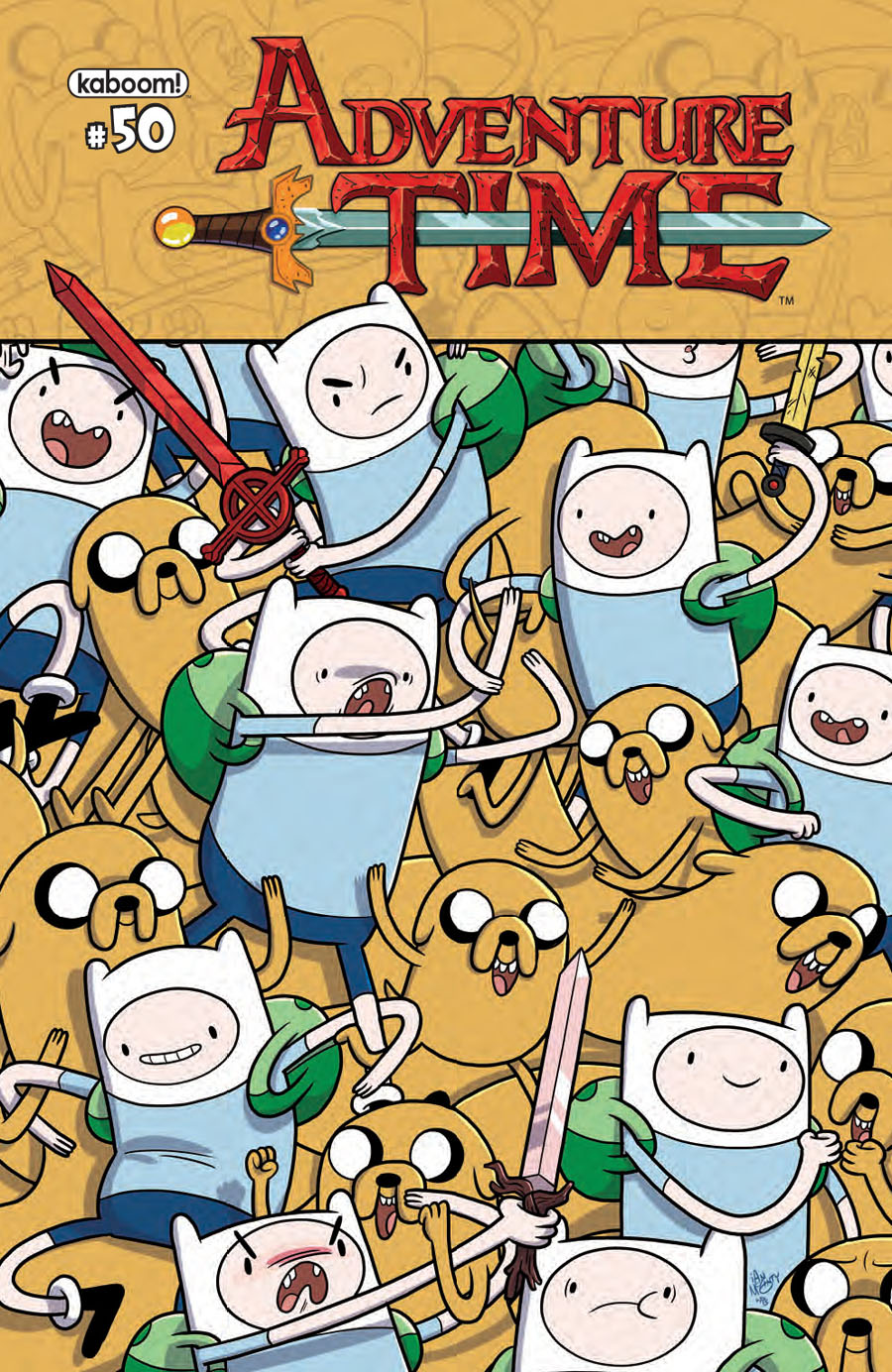 Adventure Time #50 Cover A 1st Ptg Regular Ian McGinty Cover