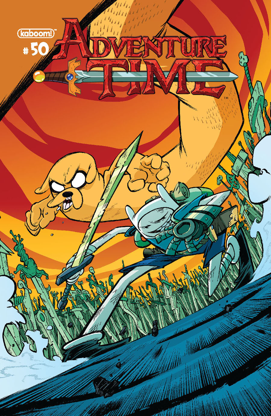 Adventure Time #50 Cover B Variant Jorge Corona Subscription Cover