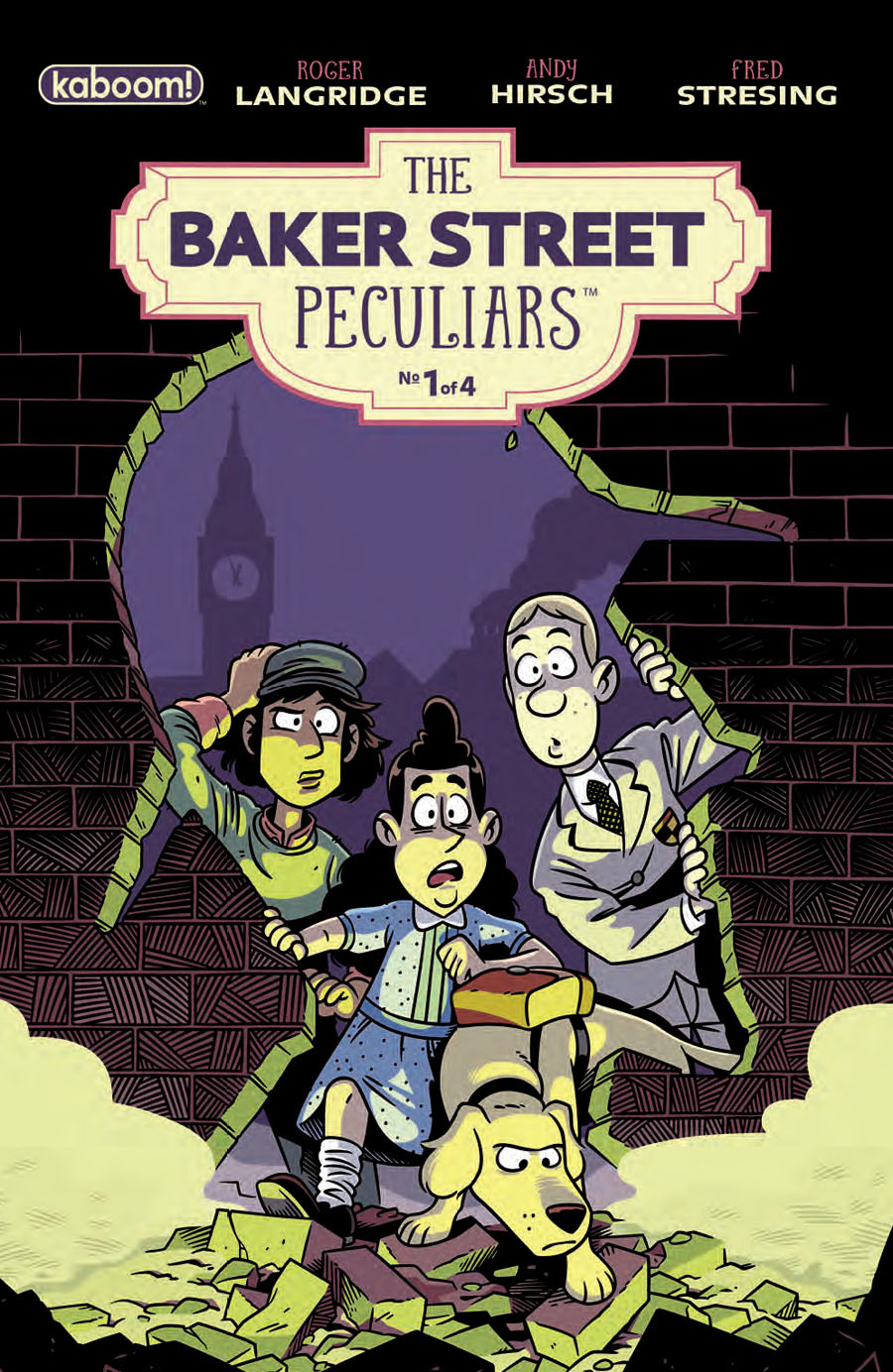 Baker Street Peculiars #1 Cover A Regular Andy Hirsch Cover