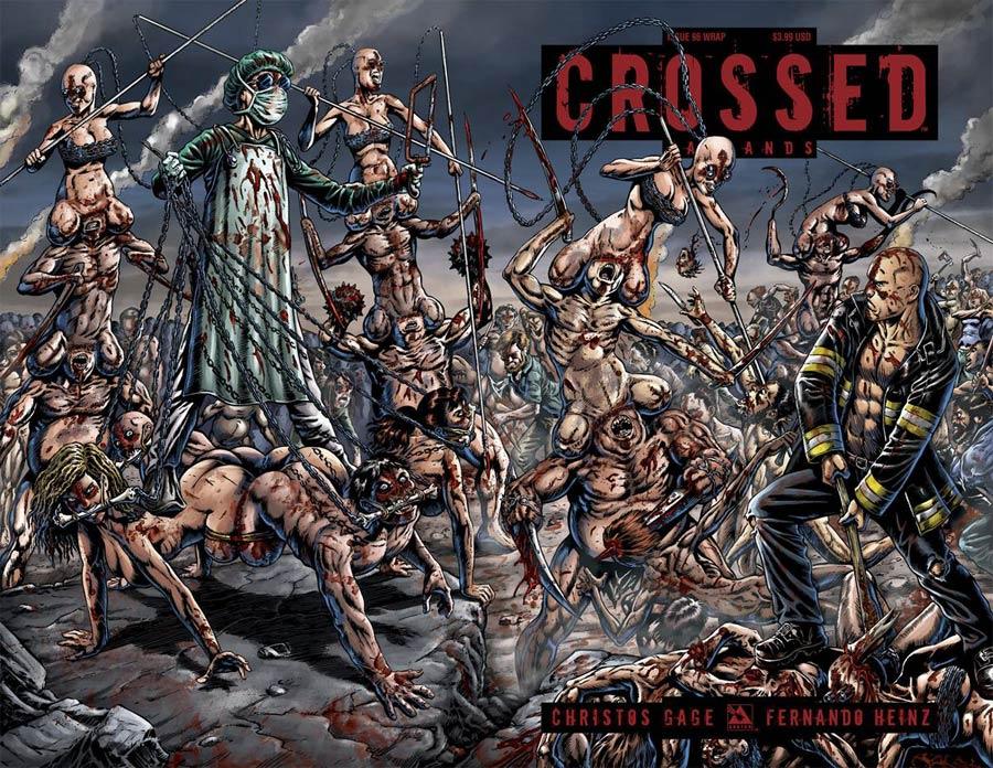 Crossed Badlands #96 Cover C Wraparound Cover