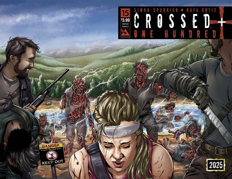 Crossed Plus 100 #15 Cover B American History X Wraparound Cover