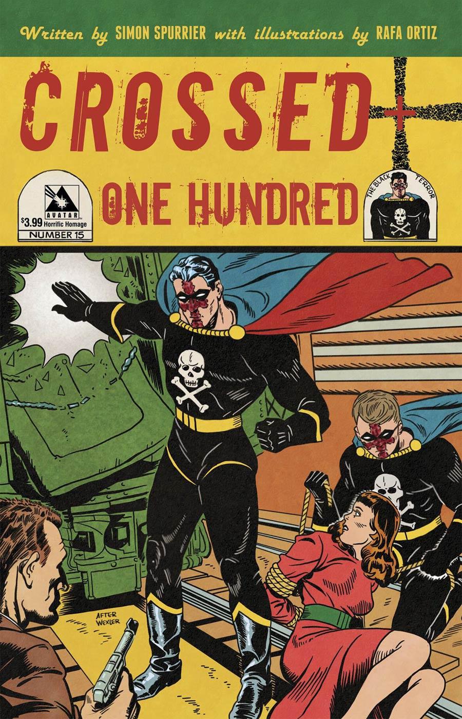Crossed Plus 100 #15 Cover E Horrific Homage Cover