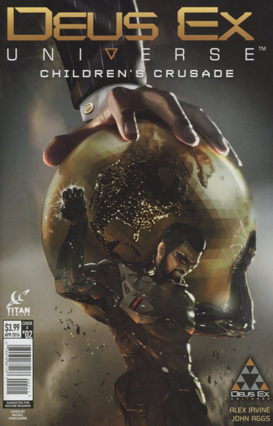 Deus Ex Universe Childrens Crusade #2 Cover A Regular Yohann Schepacz Cover