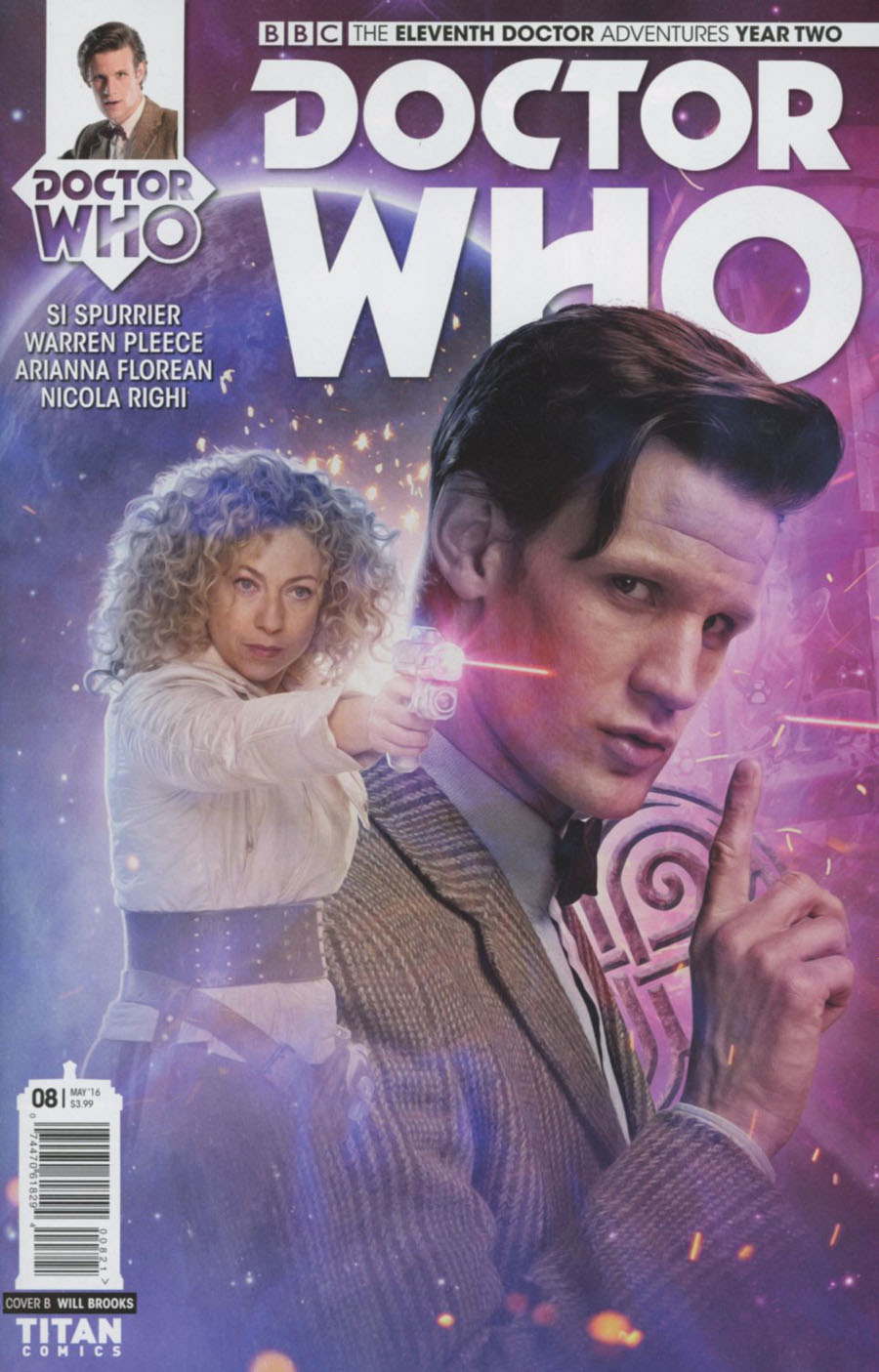 Doctor Who 11th Doctor Year Two #8 Cover B Variant Photo Subscription Cover