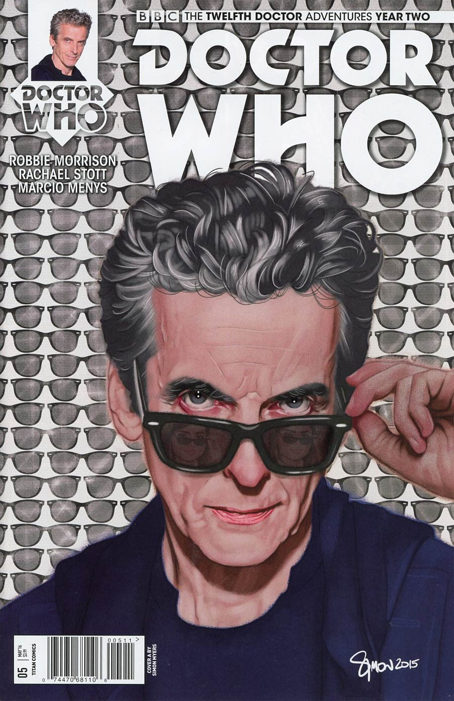 Doctor Who 12th Doctor Year Two #5 Cover A Regular Simon Myers Cover