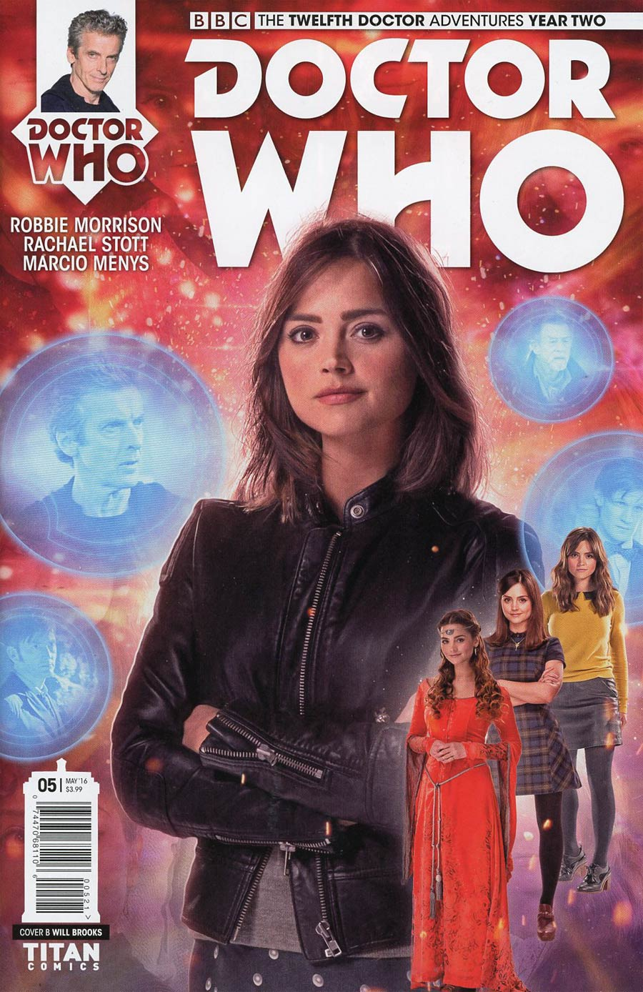 Doctor Who 12th Doctor Year Two #5 Cover B Variant Photo Subscription Cover