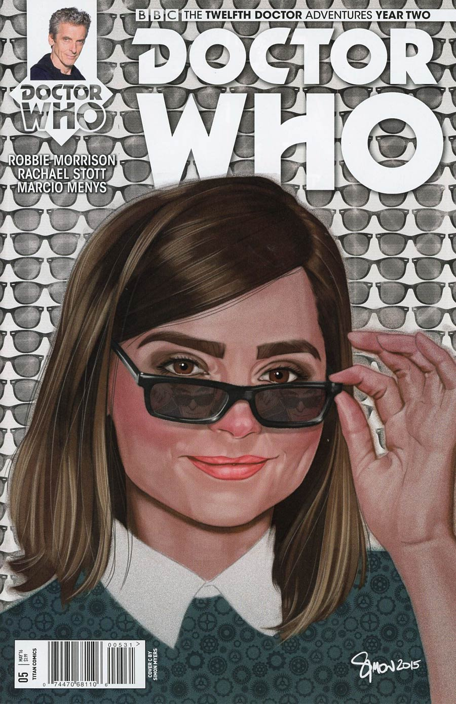 Doctor Who 12th Doctor Year Two #5 Cover C Variant Simon Myers Cover