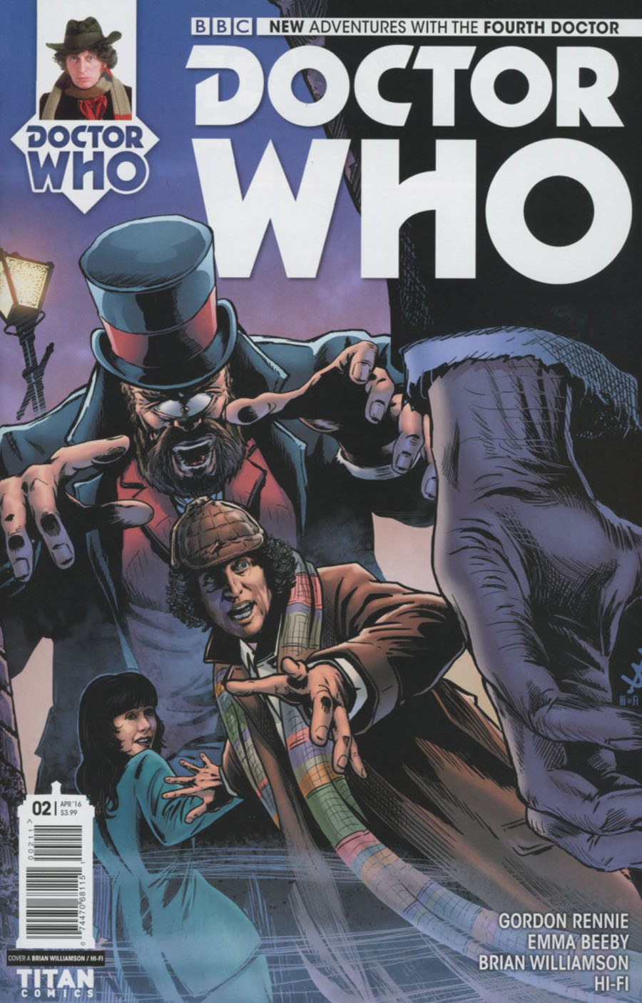 Doctor Who 4th Doctor #2 Cover A Regular Brian Williamson Cover