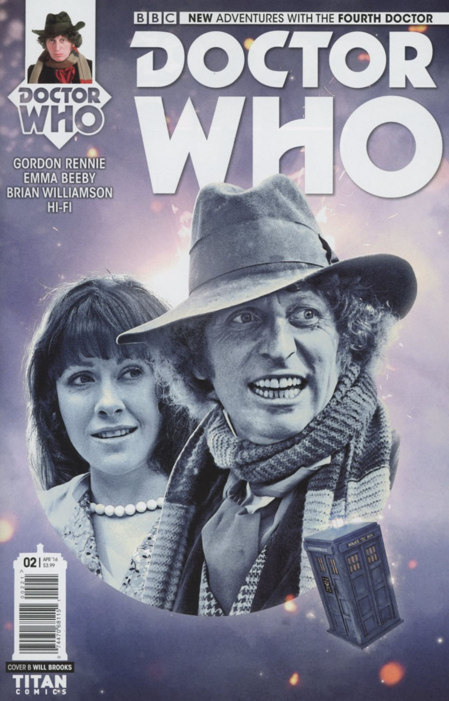 Doctor Who 4th Doctor #2 Cover B Variant Photo Subscription Cover